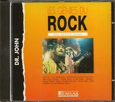 MUSIQUE CD LES GENIES DU ROCK EDITIONS ATLAS - DR. JOHN NEW ORLEANS SOUND N°45