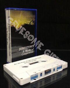 People's Temple Choir In Praise of Jim Jones Cassette Suicide Cult Worship Songs