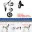 "BestParts Cart Pet//Dog Wheelchair To Make Handicapped Medium Dog walk 8.26/""-9.84"