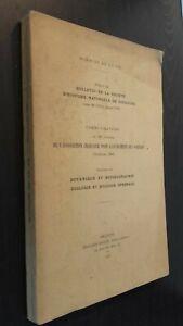 Sciences Della Terra Notiziario Histoiire Naturale Toulouse 1951 Toulouse Spilla