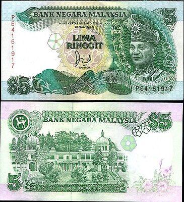 MALAYSIA 5 RINGGIT P 41 XF//AU