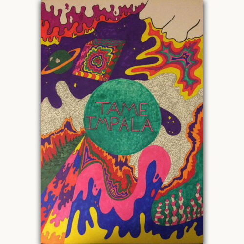60041 Tame Impala Australian Rock Band Cover Wall Print POSTER CA