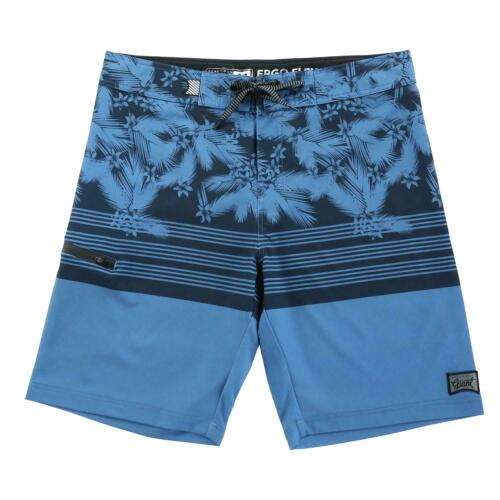 Men/'s Teen/'s Drawstring Board Shorts 34 Size Hawaiian Gym Swim Trunks Blue
