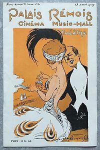 Programme-PALAIS-REMOIS-Cinema-Reims-L-039-AME-D-039-UNE-NATION-We-americans-1929