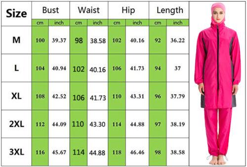 Hijab Burkini Muslim Swimwear Women Islamic Swimsuit Modest Full Cover Beachwear
