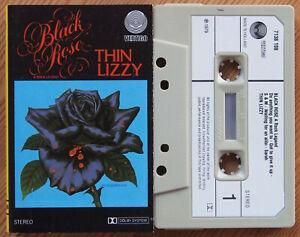 THIN-LIZZY-BLACK-ROSE-VERTIGO-7138108-1979-DUTCH-CASSETTE-TAPE-EX-COND