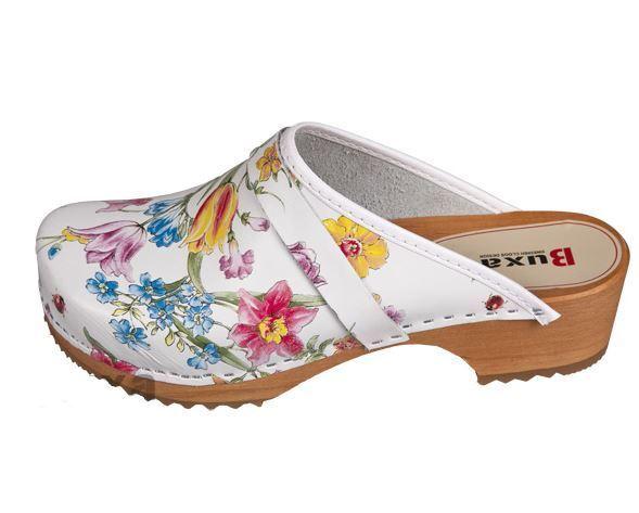 De Madera de Cuero Médico zuecos MultiColor nos Talla de Madera calzado (para Mujer) 2f90f8