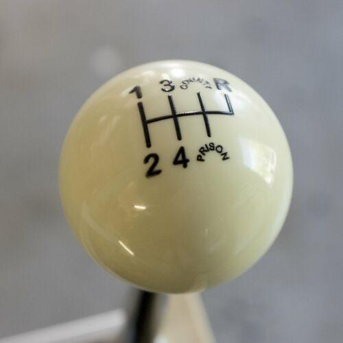 WHITE County Prison 6 speed shift knob for 1993-2002 Camaro /& Firebird shifter