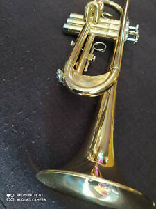 Berkeley-Bb-Trumpet-Heavy-D2H-Mouthppiece-w-Engrave-Monette-Style-Leadpipes