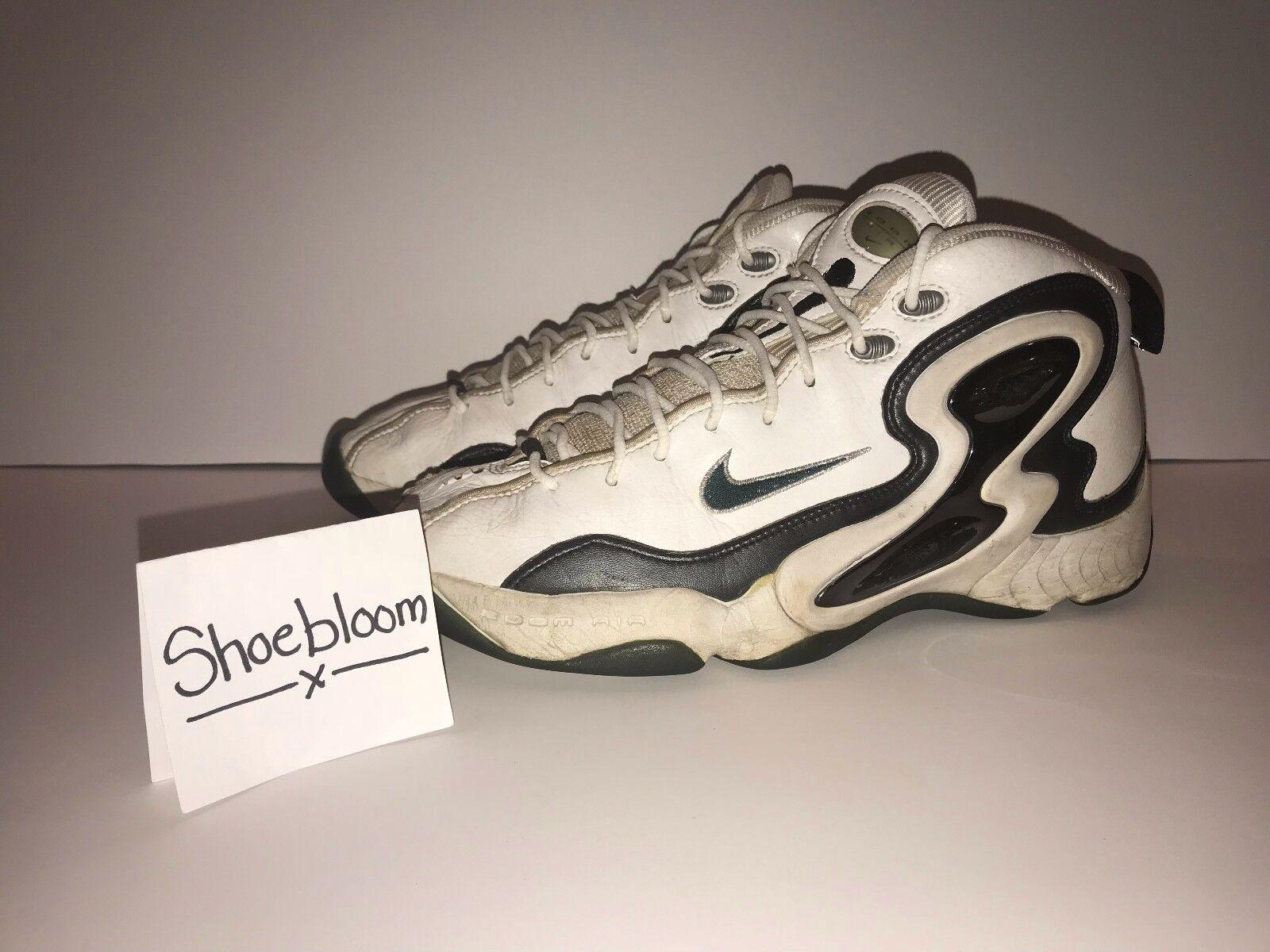 Nike Air Zoom Hawk Flight Gary Payton Seattle OG PE Size 10 100% Authentic