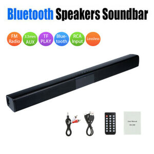 Wireless-Bluetooth-Speaker-System-Sound-Bar-Audio-Surround-For-Theater-Home-TV