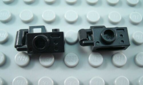 LEGO Lot of 2 Black Handheld Minifigure Cameras