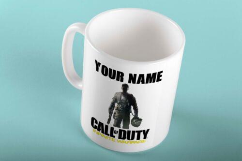 Personalised COD Infinite Warfare Call Of Duty Mug Cup Birthday Christmas Gift