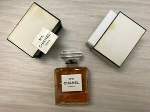 CHANEL-No-5-pure-parfum-EXTRAIT-flacon-28ml-9oz-Vintage-Rare-NIB