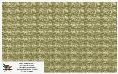[FFSMC Productions] Decals 1/35 Camouflage US Army Multicam Pattern