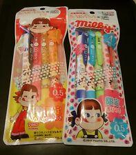 Peko-chan Sarasa Crip Scented Pens / Fujiya x Zebra / Limited Edition / Milky
