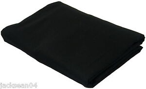 DOUBLE-BLACK-LUXURY-QUALITY-COTTON-76-68PICK-FITTED-SHEET-BED-LINEN