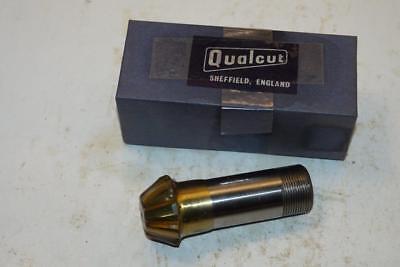 New Qualcut UK Made 28mm 6 Flute HSS No4300 25mm Screwed Shank End Mill