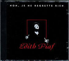 EDITH PIAF - NON, JE NE REGRETTE RIEN - CD ALBUM - BEST OF  [125]