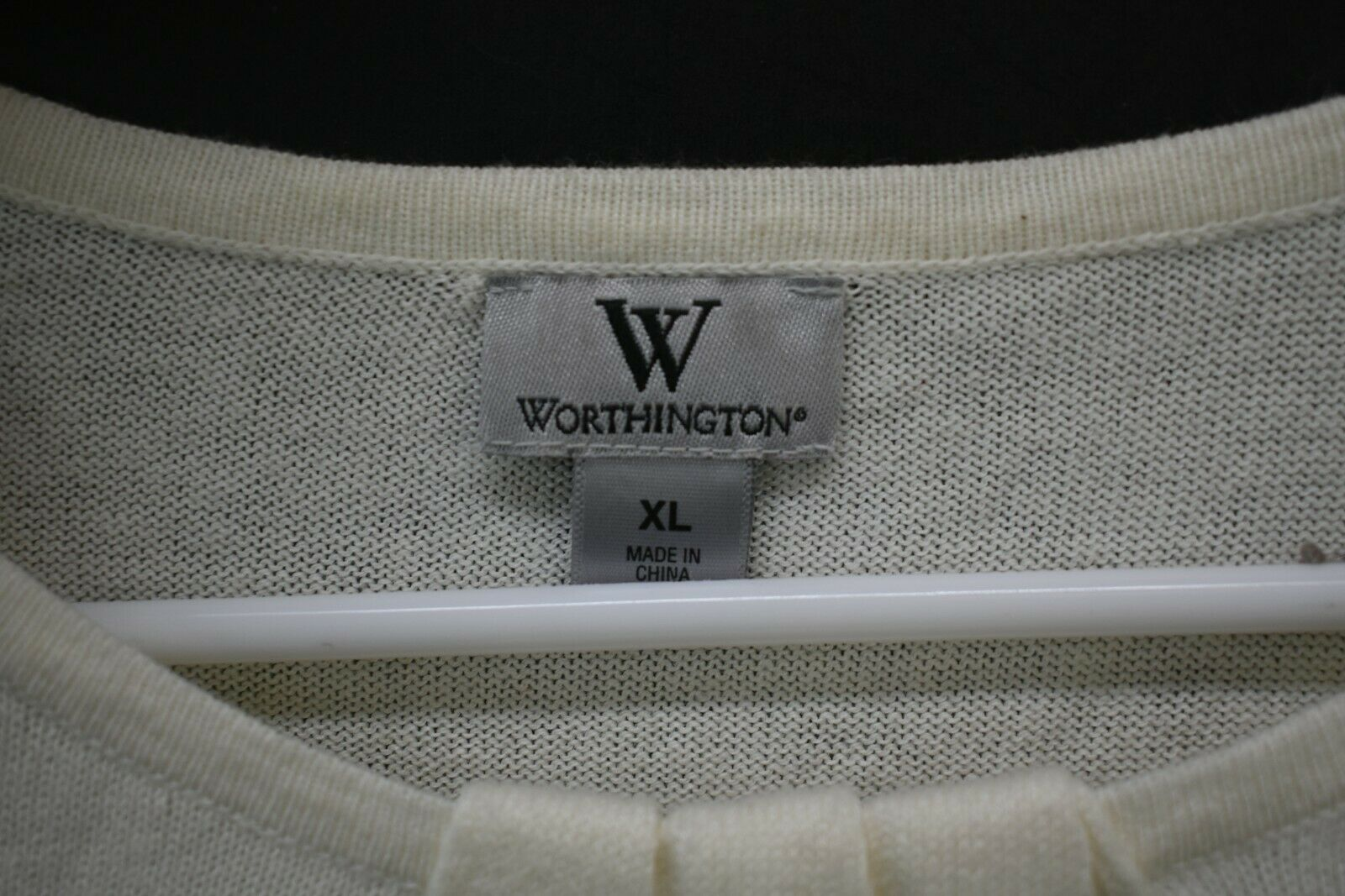 Lot of 3 Women's XL Christopher & Banks White LS … - image 10