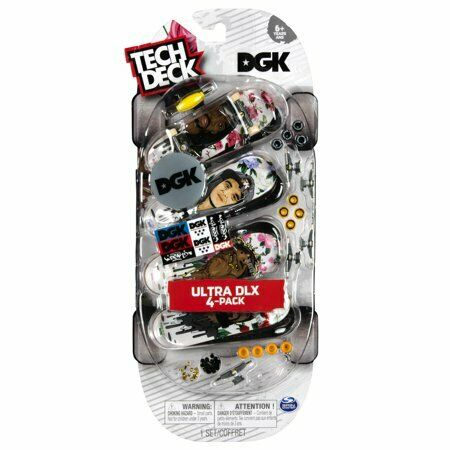 TECH Deck 4 confezione di tastiere 96mm NUOVO