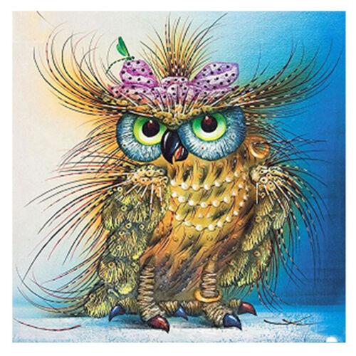1set DIY Diamond Paintings Owl Animal diamond Embroidery Cross Stitch home decor