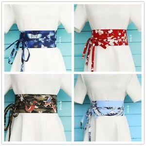 8255f71919e4 Femme Japonais Ceinture Ceinture Corset Vintage Kimono Yukata Haori ...