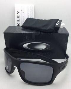 a592ef53b0 Image is loading Polarized-OAKLEY-Sunglasses-TURBINE-OO9263-07-Matte-Black-
