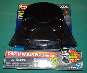 Angry Birds Star Wars Telepods Darth Vader Pig Carry Case Chewbacca Chewie nouveau