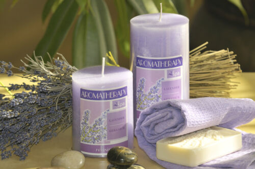 REVITALISING OR SENSUOS SCENT AROMATHERAPY SCENTED CANDLES RELAXING