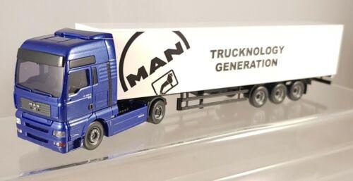 "Wiking MAN TG-A XXL /""Trucknology Generation/"" Sattelzug LKW 1:87 H0 538 05 46"
