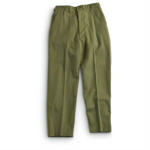 Genuine-Issue-Army-M-1951-Trousers-Korean-War-Wool-Field-Pants-OD