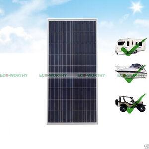 Eco Mono Poly Solar Panel 160w 100w 90w 40w Module For 12v
