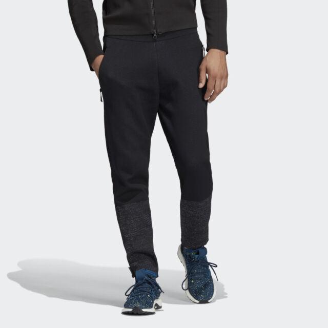 Adidas Men's Black Z.N.E Primeknit Track Pants (Retail $125)
