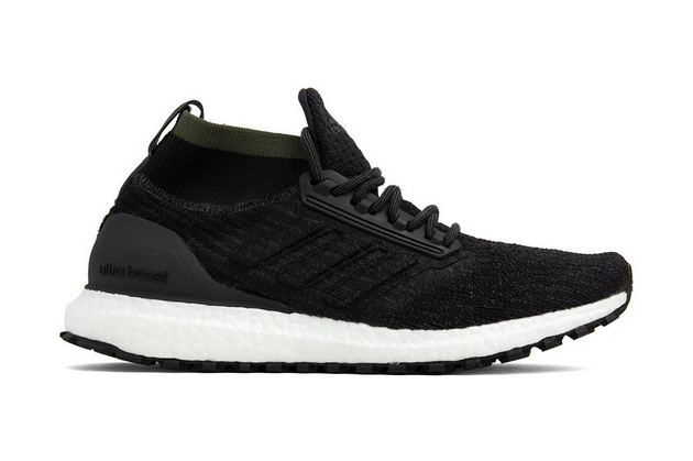Adidas Originals Ultraboost All Terrain in CarbonCore BlackFlat White CM8256