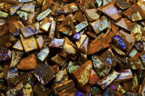 500 cts of Koroit Boulder Opal Hand Trimmed and Sorted High Quality Slices!