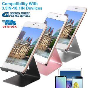 Smartphone-Tablet-Cell-Phone-Stand-Desk-Table-Desktop-Metal-Holder-Universal-US