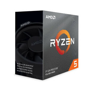 AMD Ryzen 5 3600 6-Core, 12-Thread Up to 4.2 GHz Processor 100-100000031B
