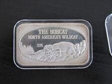 .999 Silver Art Bar *Nearing Extinction Series* USSC Vtg 1975 Bald Eagle 1 Oz