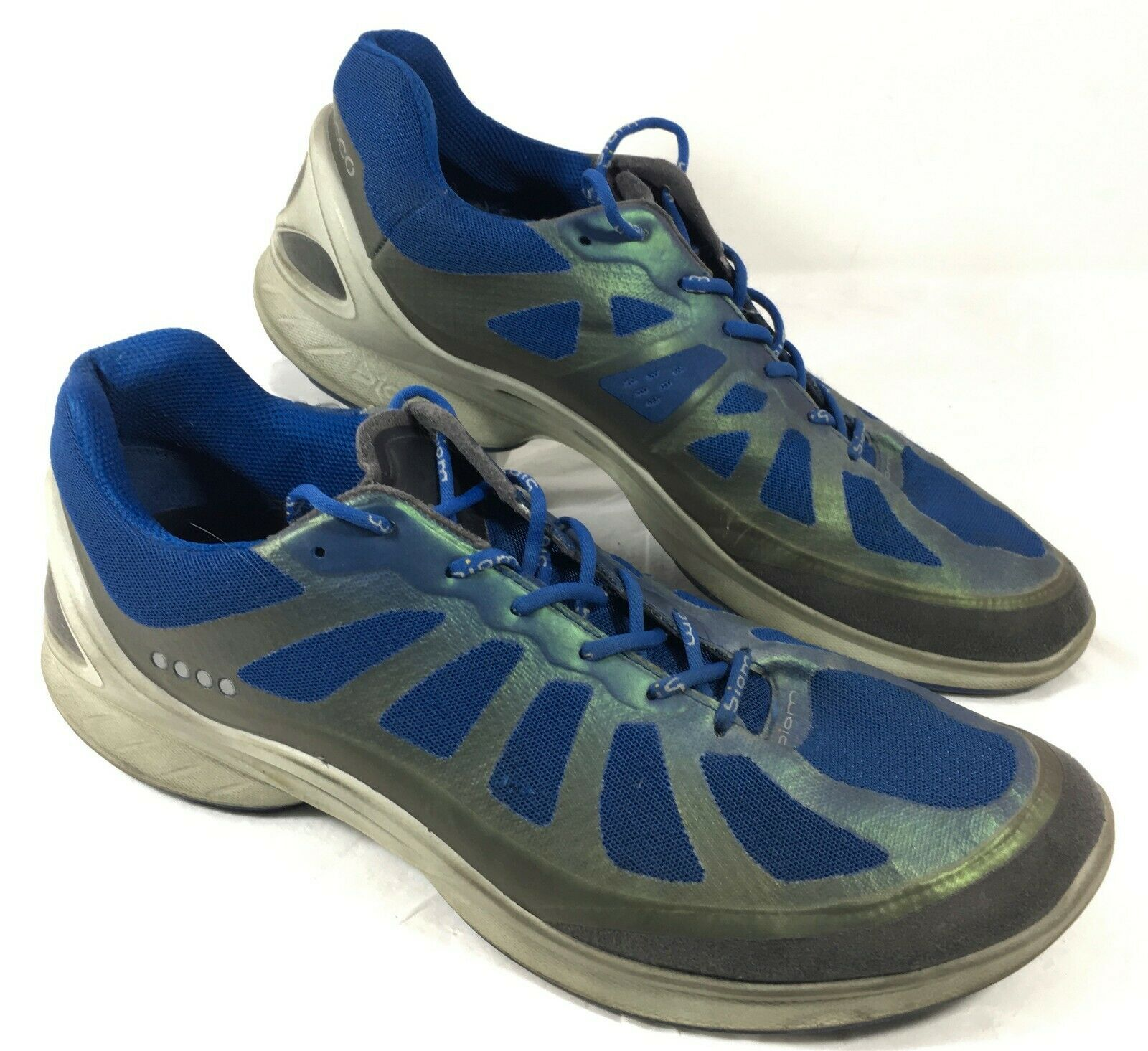 GUC Ecco Casual Sneakers Biom Fjuel Racer Running shoes Sz 44 10-10.5