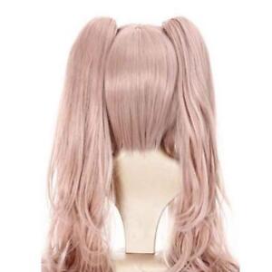 Danganronpa-Junko-Enoshima-wig-Long-Synthetic-Hair-Pink-Wavy-Wigs-Cap-W5D7