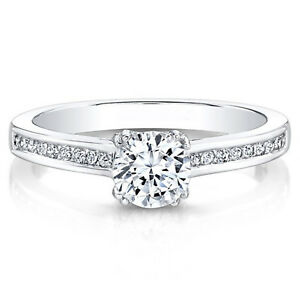 0-60-Carat-Round-Natural-Diamond-14K-Solid-Real-White-Gold-Ring-Size-4-5-5-6-5-7