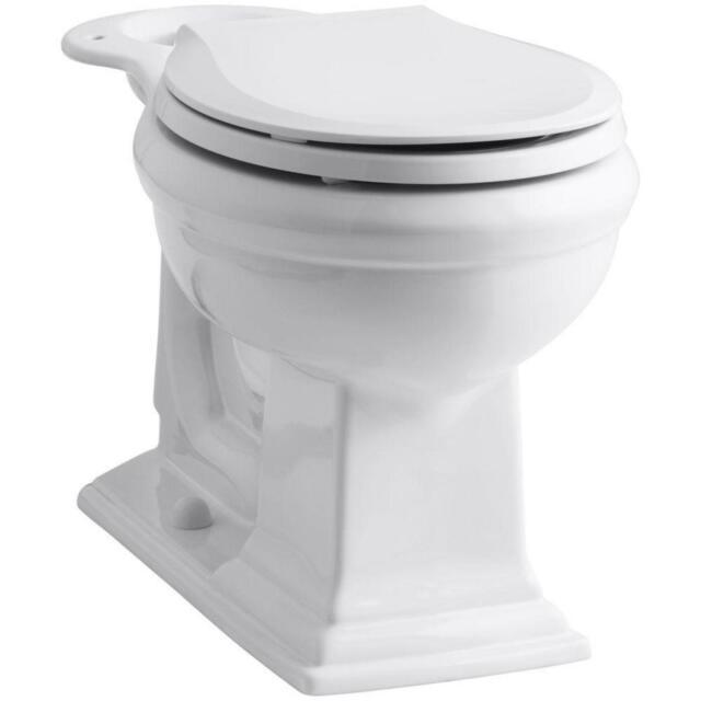 Brilliant Kohler Memoirs Front Toilet Bowl Only Comfort Height Round 12 In Rough In White Machost Co Dining Chair Design Ideas Machostcouk