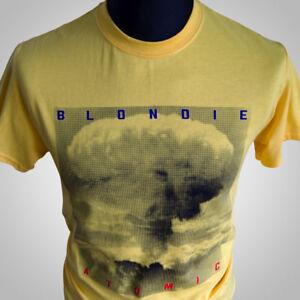 583bd0f4c Blondie Atomic Retro Music T Shirt New Wave Debbie Harry Cult 80's ...