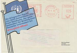 BRD-1980-seltene-25-Pf-Freistempel-UNICEF-UNO-7257-DITZINGEN