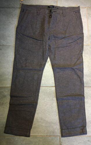 Paul Smith Da Uomo A Pieghe Pantaloni Nuovi con etichetta di marca Abbigliamento Uomo