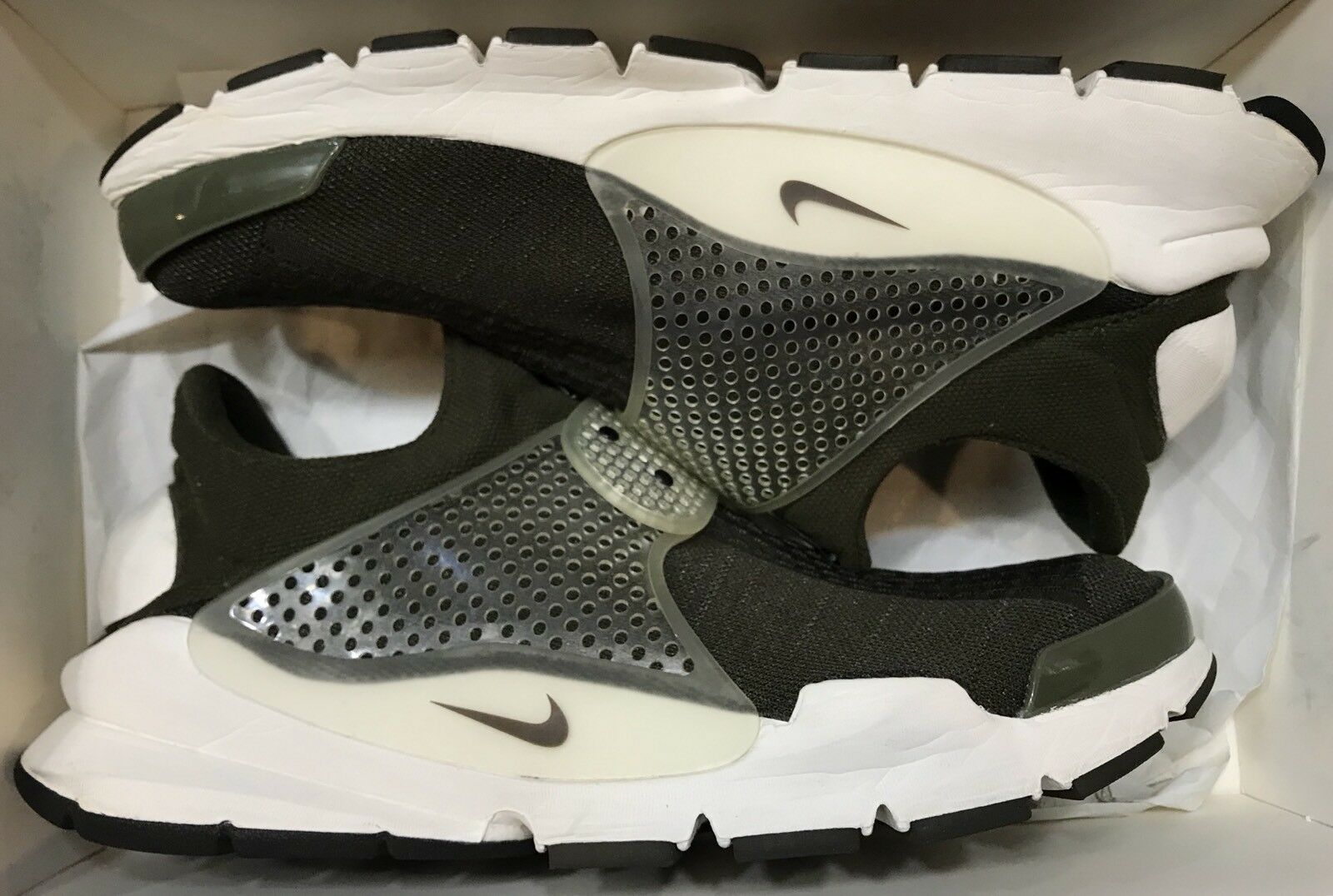 Nike Sock Dart SP Fragment Dark Dark Dark Loden Sail Green Off White 728748-300  Presto 12 73884c
