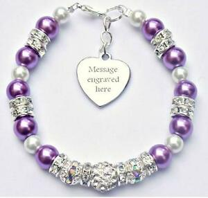 Personalised-Engraved-Pancreatic-Cancer-Awareness-Bracelet-Fundraising-Charity