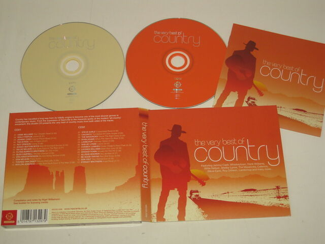VARIOUS ARTISTS/THE VERY BEST OF COUNTRY(NSCDD 2006) CD ALBUM