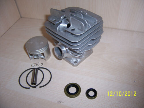 Zylinder+2Wedis passend Stihl 034 034 super 036 neu 48mm motorsäge kettensäge